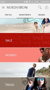 screenshot of Nordstrom - Fashion & Shopping version 1.7.39