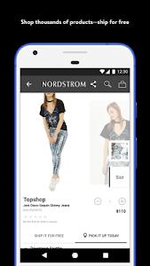 screenshot of Nordstrom version 3.9.2.307