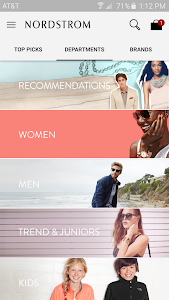 screenshot of Nordstrom - Fashion & Shopping version 1.4.30
