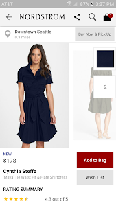 screenshot of Nordstrom - Fashion & Shopping version 1.2.15