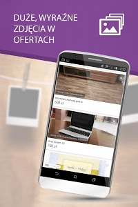 screenshot of OLX.pl - ogłoszenia lokalne version Varies with device
