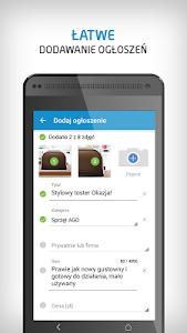 screenshot of OLX.pl - ogłoszenia lokalne version 3.7.0