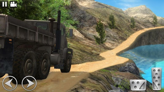 screenshot of Off Road Cargo Truck Driver version 3.6