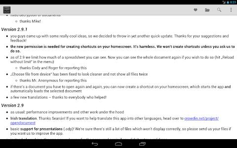 Download OpenDocument Reader 2.16 APK