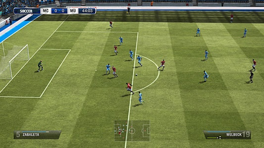 screenshot of PES 2017 version 1.0
