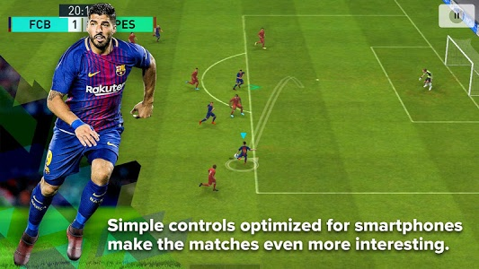 Download PES 2018 PRO EVOLUTION SOCCER 2.3.3 APK