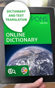 screenshot of PONS Online Dictionary version 2.6.6-google