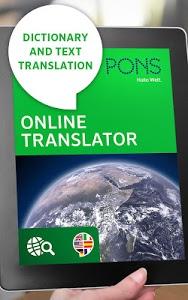 Download PONS Online Translator  APK
