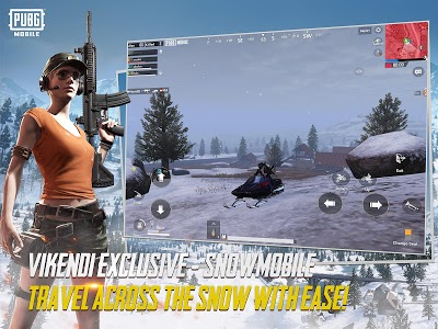 screenshot of PUBG MOBILE version 0.10.0