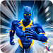 Panther Superhero Avenger vs Crime City
