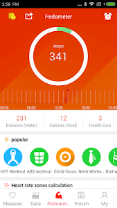 Download Pedometer - Six pack Workout 3.6.0 APK