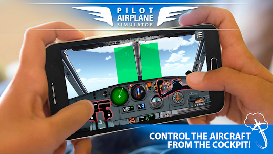 screenshot of Pilot Airplane simulator 3D version 1.71