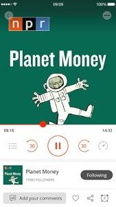 screenshot of Podcast App & Podcast Player - Podbean version 6.4.3