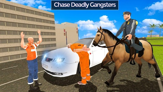 Download Police Horse Street Crime Chase: NY City Cop Duty 1.1 APK