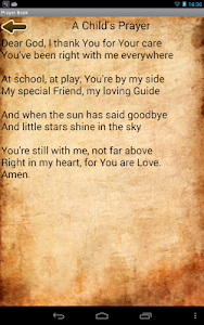 screenshot of Prayer Book version 2.40