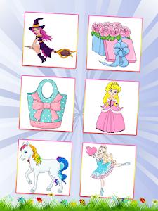 screenshot of Princess Coloring Book version 1.2.8
