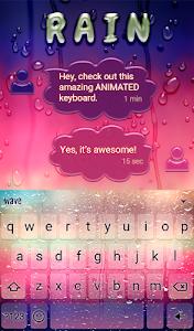 Download Rain Animated Keyboard 2.15 APK