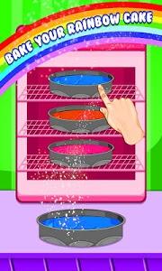 screenshot of Rainbow Cake Maker 2 version 1.0