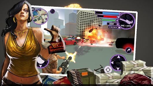 screenshot of Real Grand Gangsters 3D version 1.2