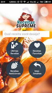 screenshot of Receitas Supreme version 5.25