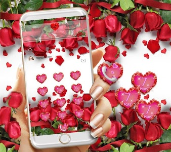 Download Red Rose Theme Wallpaper Red Roses Lock Screen 1 1 8 Apk