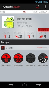 Download Runtastic Squats Workout 1.13 APK