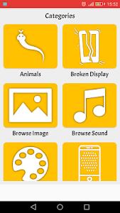 screenshot of Screen Pranks version 1.8.5