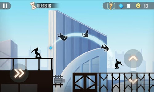 screenshot of Shadow Skate version 1.0.6