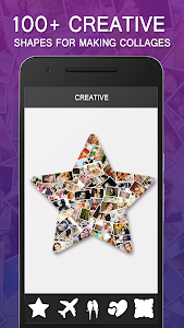 screenshot of Shape Collage - Automatic Photo Collage Maker version 1.0