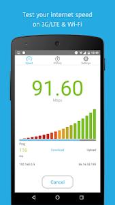 screenshot of Simple Speedcheck version 5.1.0.7