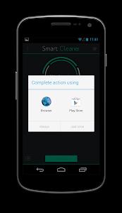 screenshot of Smart Cleaner version 1.3