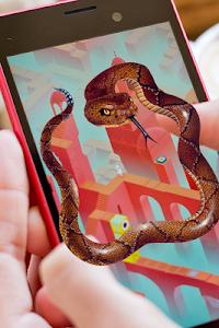 Download Snake on Mobile Screen Prank 1.3 APK