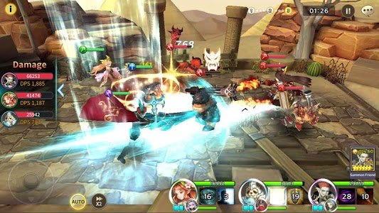 screenshot of Soul Seeker: Six Knights – Strategy Action RPG version 1.1.201