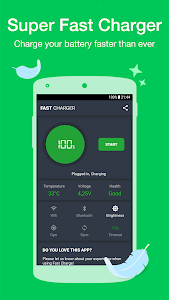 screenshot of Fast Charger version 1.0