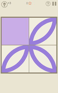 screenshot of Symmetry - Drawing Puzzles version 1.1