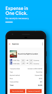 screenshot of TripActions - Business Travel version 2.2.1