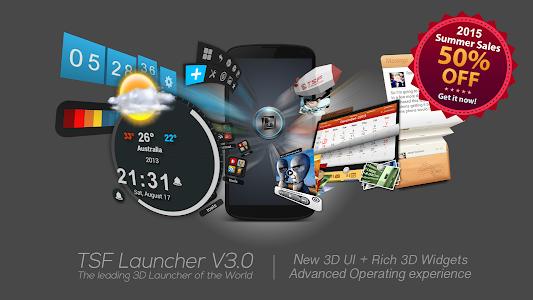 Download TSF Launcher 3D Shell 3.9.3 APK