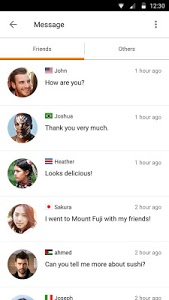 screenshot of Airtripp:Free Foreign Chat version 7.0.11