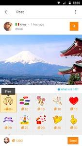 screenshot of Airtripp: Find Foreign Friends version 7.0.7