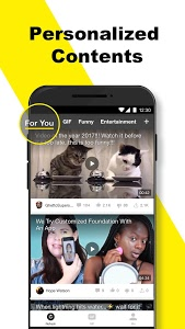 screenshot of BuzzVideo - Viral Videos, Funny GIFs &TV shows version 7.0.0