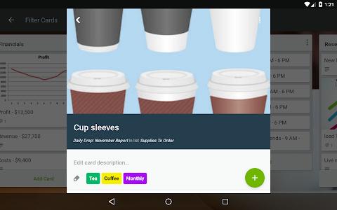 screenshot of Trello version 5.1.1.11285-production