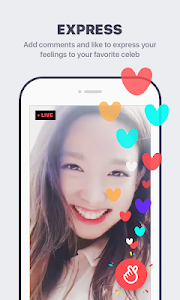 screenshot of V LIVE - Star Live App​​ version Varies with device