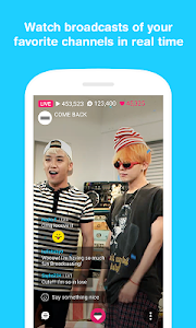 screenshot of V – Live Broadcasting App version Varies with device