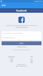 screenshot of Video Downloader for Facebook version 4.5