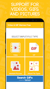 screenshot of Video & GIF Memes Free version 1.054