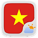 Download Vietnamese Language GOWeather 1.1 APK