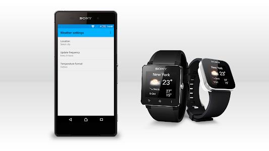 screenshot of Weather smart extension version 1.0.34