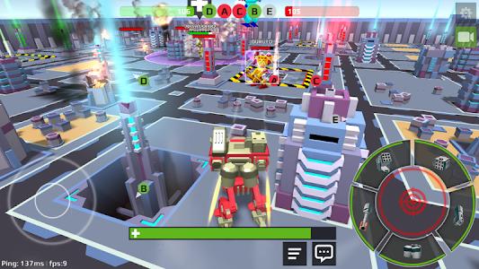 screenshot of World Of Cartoon Robots version 1.1.1