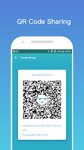 screenshot of Zapya Go - Free File Transfer & Sharing version 1.4