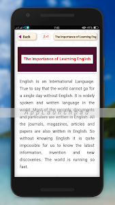 Download easy english paragraph learning- details 3.0 APK